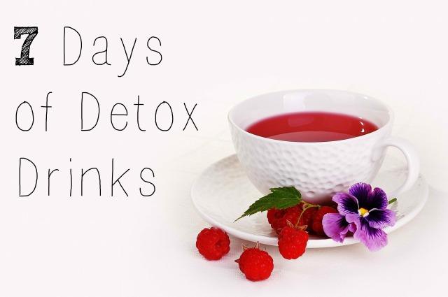 7 Days of Detox Drinks