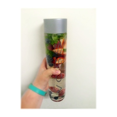 Berry Blush Detox Drink