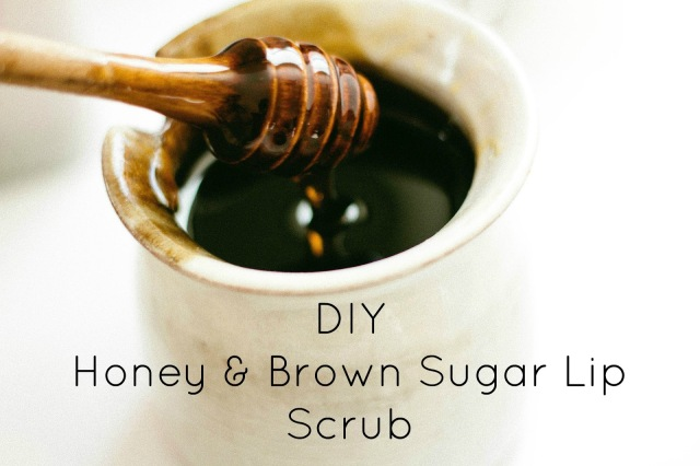 DIY Honey Lip Scrub