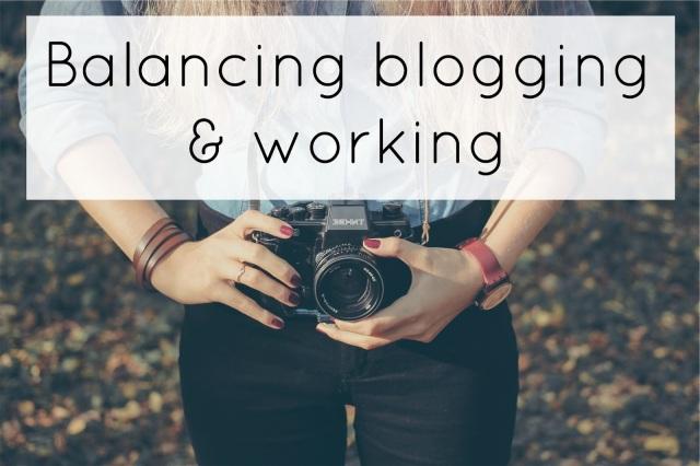Balancing Blogging and Working