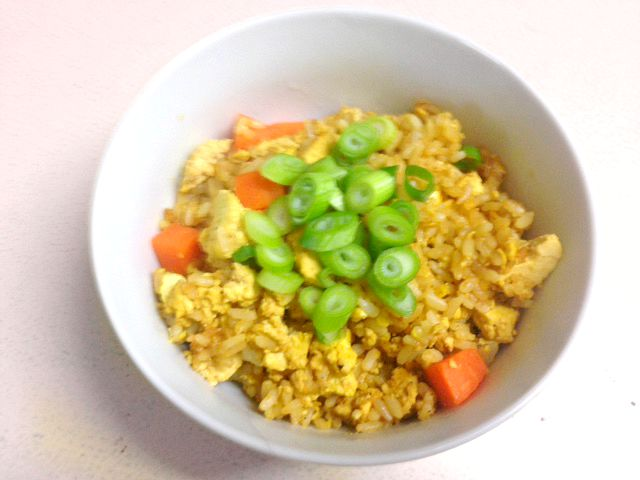 Tofu-Fried-Rice