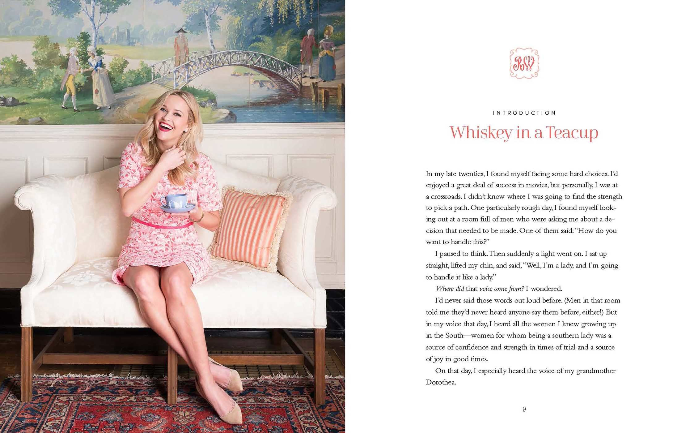 Whisky in a teacup by Reese Witherspoon